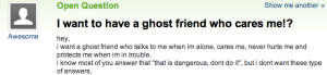 ghost friend