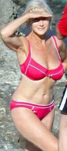 hellen mirren bikini