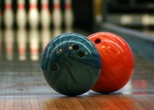 2 bowling balls