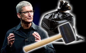 Apple releases mallet + garbage bag for the iPhone 4