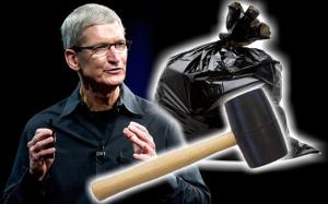 apple mallet garbage bag update