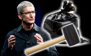 apple mallet garbage bag update