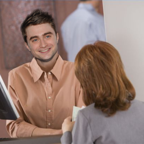 Guy who looks like Daniel Radcliffe happily accepts praise intended for DanielRadcliffe