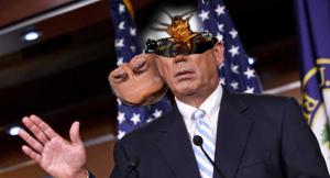 john boehner cockroach