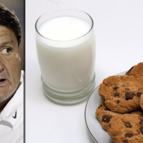 Orgeron brings dessert back to USC football players; in talks to restore snuggling with girlfriends, bring sexy back, save the true meaning of Christmas