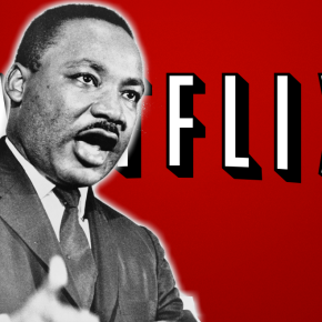 Woman honors Dr. Martin Luther King, Jr. with a late breakfast, Netflixbinge