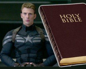 captain and the bible