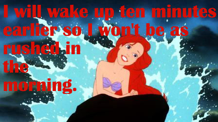 Little Mermaid Goal