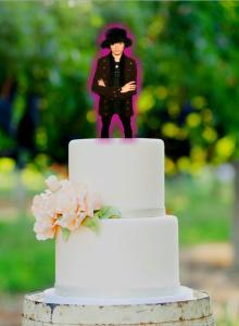 pickup artist wedding cake