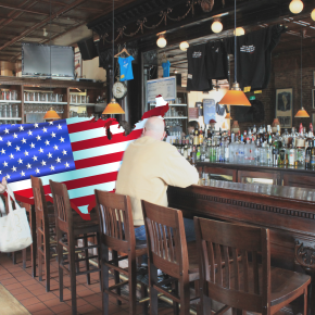 America At Nearby Bar For Birthday This Year If You Wanna SwingBy