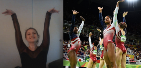 OPINION: I Too Could Be A Women's Gymnastics Champion If It's Just The Hand-Wavy Stuff