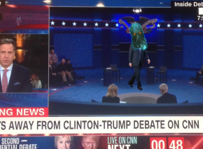 SHOCKER: Minutes Before Debate, Trump Reveals Himself To Be Cthulhu, Lord Of Destruction AndEvil