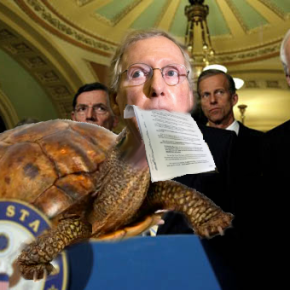 Mitch McConnell Emerges From Shell With Massive Cut To Medicaid, Tax Cut For Rich