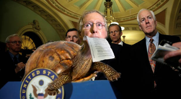 mitch mcconnell emerges