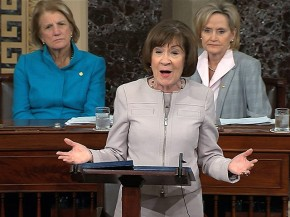"Senator Collins: ""We MUST listen to women before we tell them it doesn't matter."""